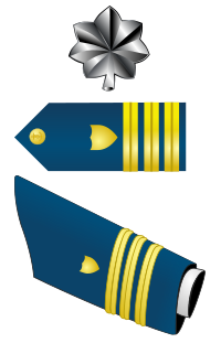 Rank badge of a Commander
