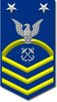 Rank badge of a Master Chief Petty Officer