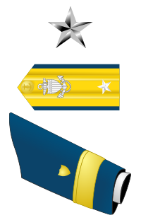 Rank badge of a Rear Admiral Lower Half