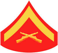Rank badge of a Lance Corporal