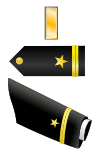 Rank badge of a Ensign