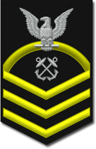 Rank badge of a Chief Petty Officer