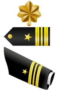 Rank badge of a Lieutenant Commander