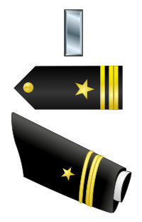 Rank badge of a Lieutenant Junior Grade