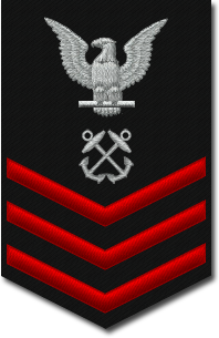 Rank badge of a Petty Officer First Class